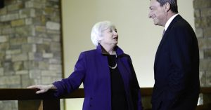 Dragui y Yellen